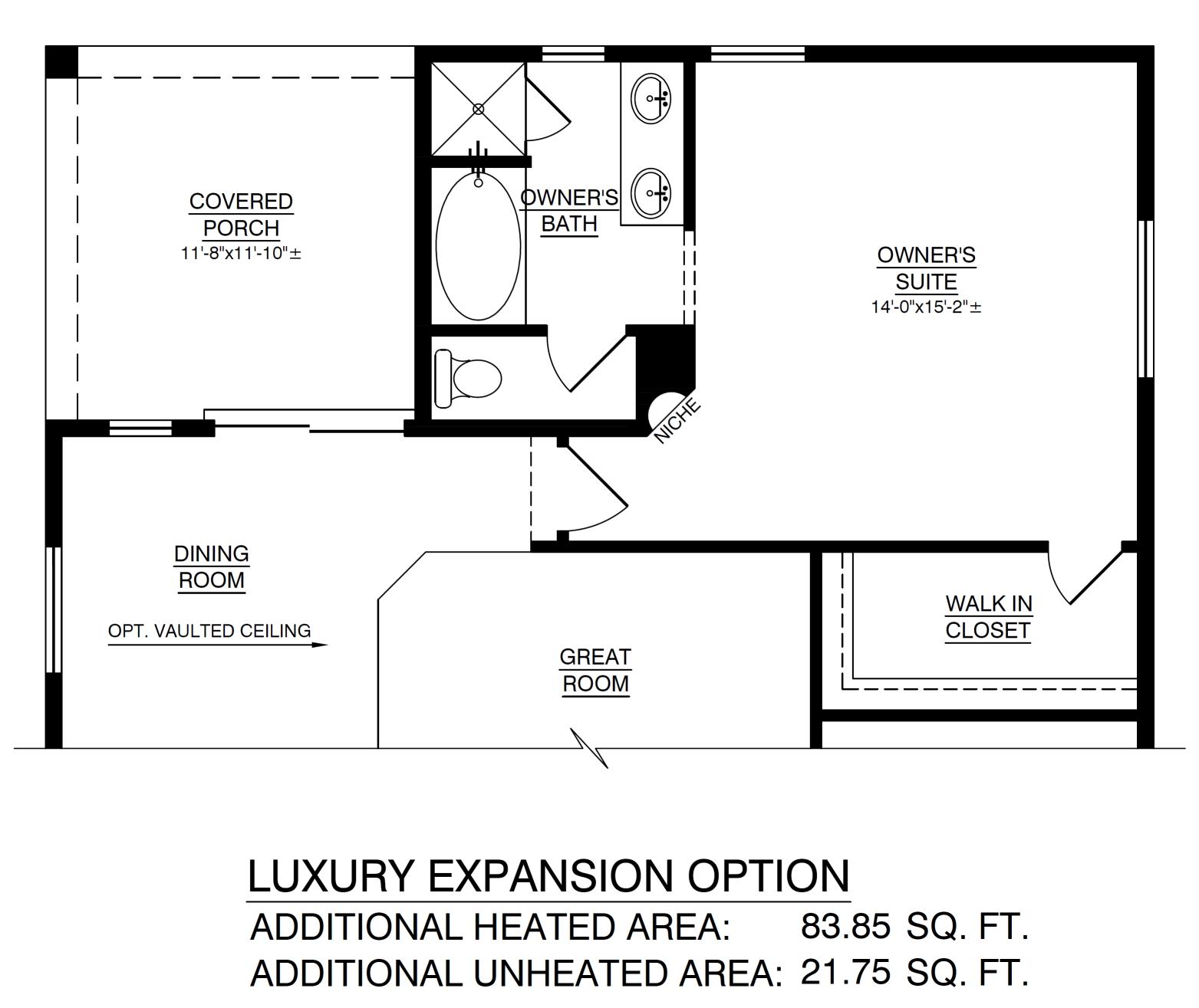 Optional Luxury Expansion