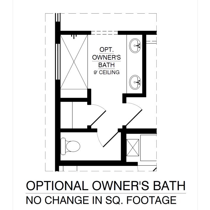 Optional Owners Bath