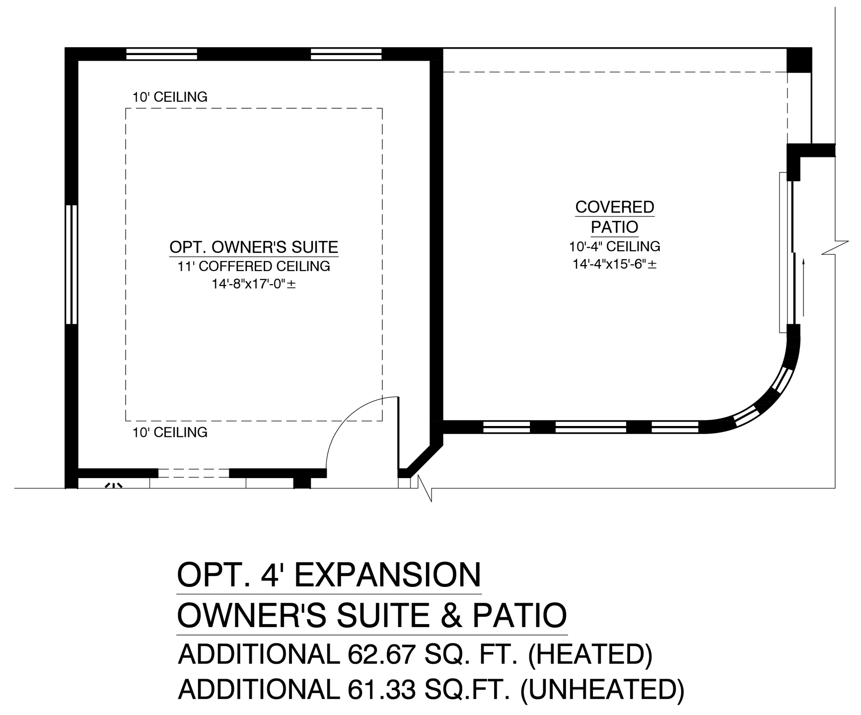 Optional Owners Suite Expansion And Patio