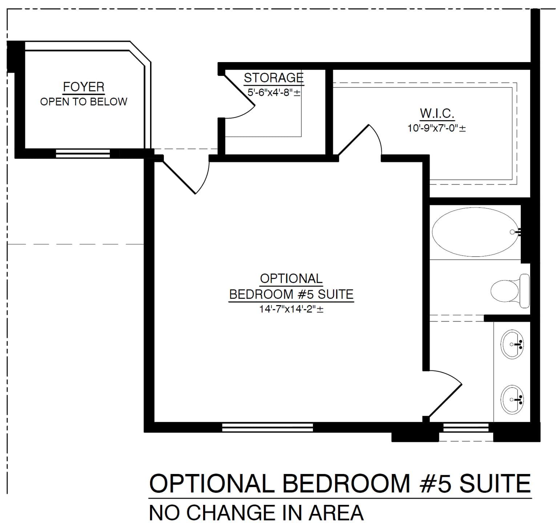 Optional 5th Bedroom Suite
