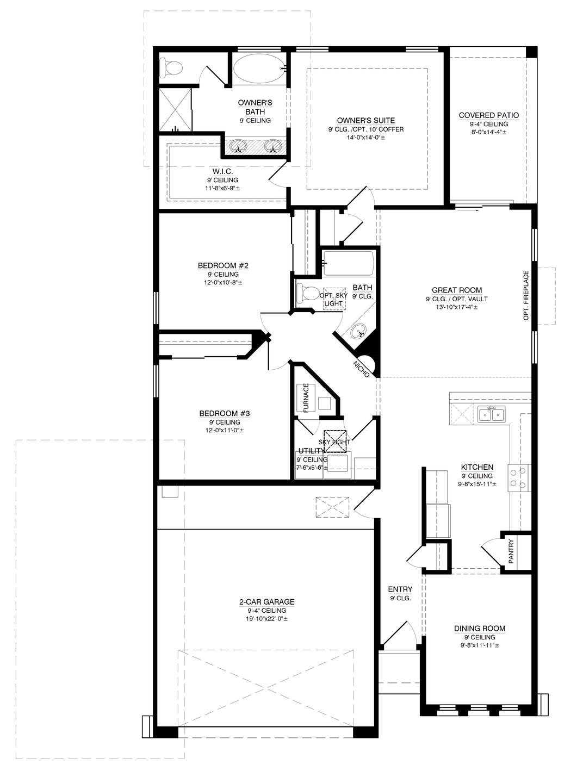 The Harriet Floor Plan