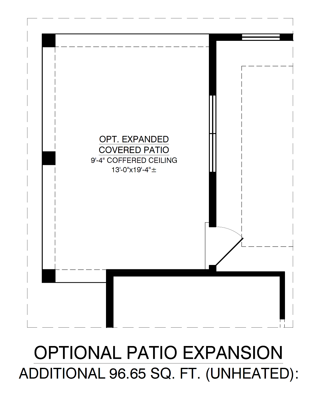 Optional Patio Expansion