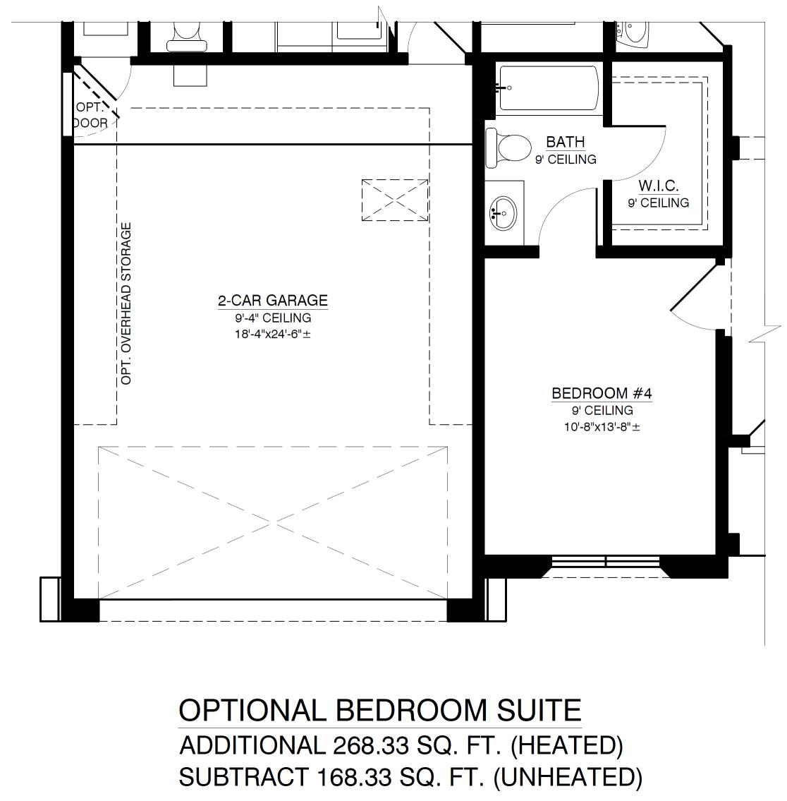 Optional Bedroom Suite