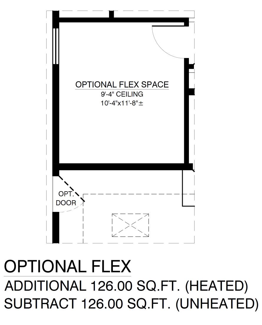Optional Flex Space