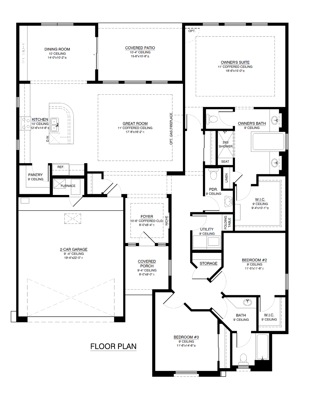The Katherine II Floor Plan