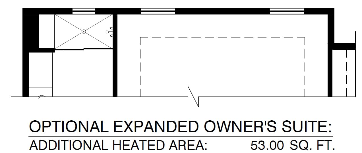 Optional Expanded Owners Suite