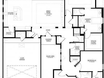 The Katherine Floor Plan