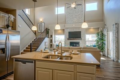 Kitchen - Coco (Estates at Santa Monica)