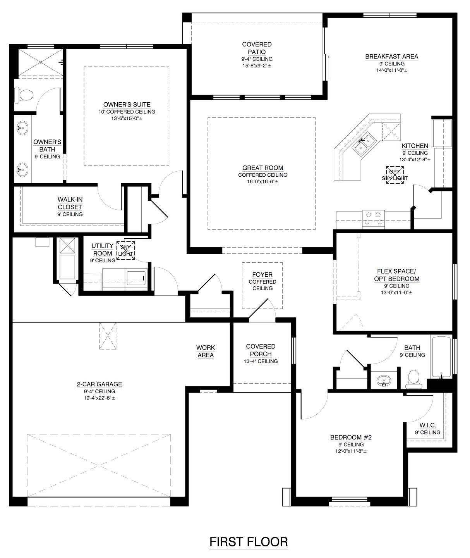 The Anne Floor Plan
