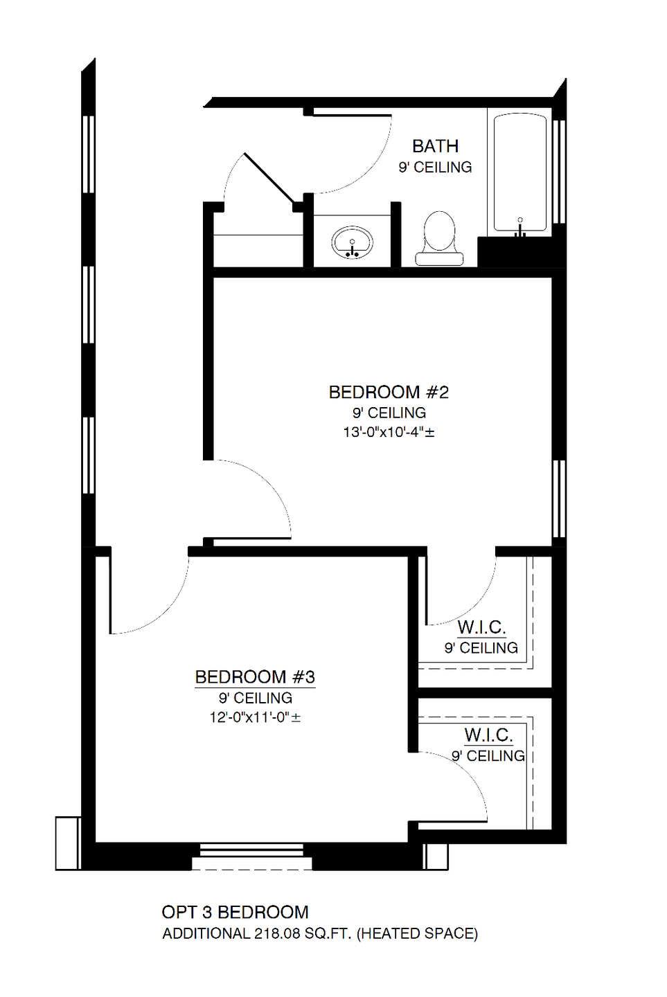 The Anne Optional 3rd Bedroom