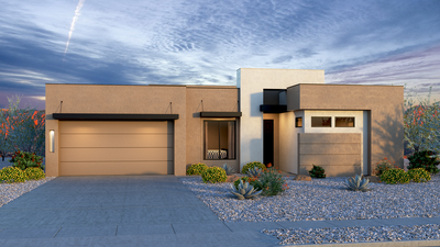 Julia - Contemporary with 4th Bedroom