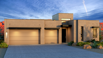 Norma - Contemporary with 3rd car garage