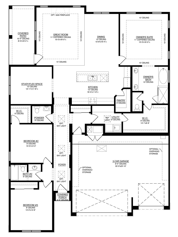 The Marilyn II Floorplan (Durango)