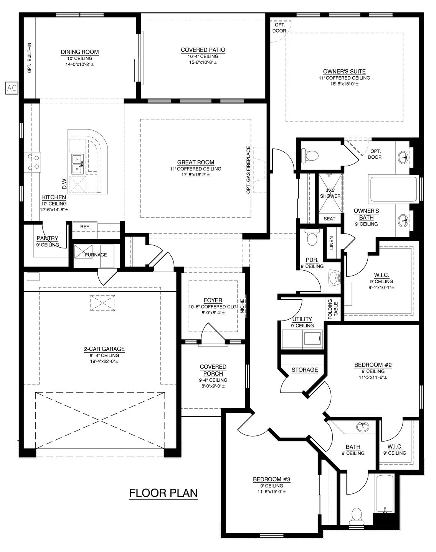 The Katherine II Floor Plan (Durango)