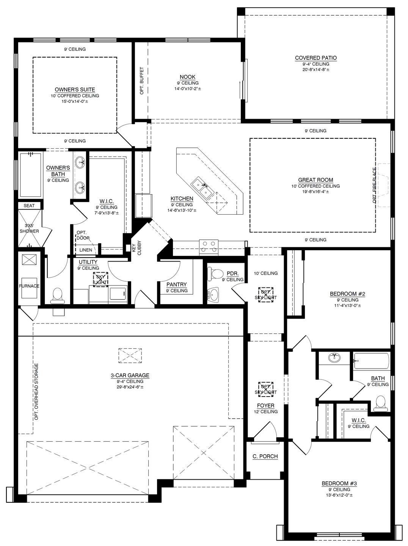 The Audrey II Floor Plan (Durango)